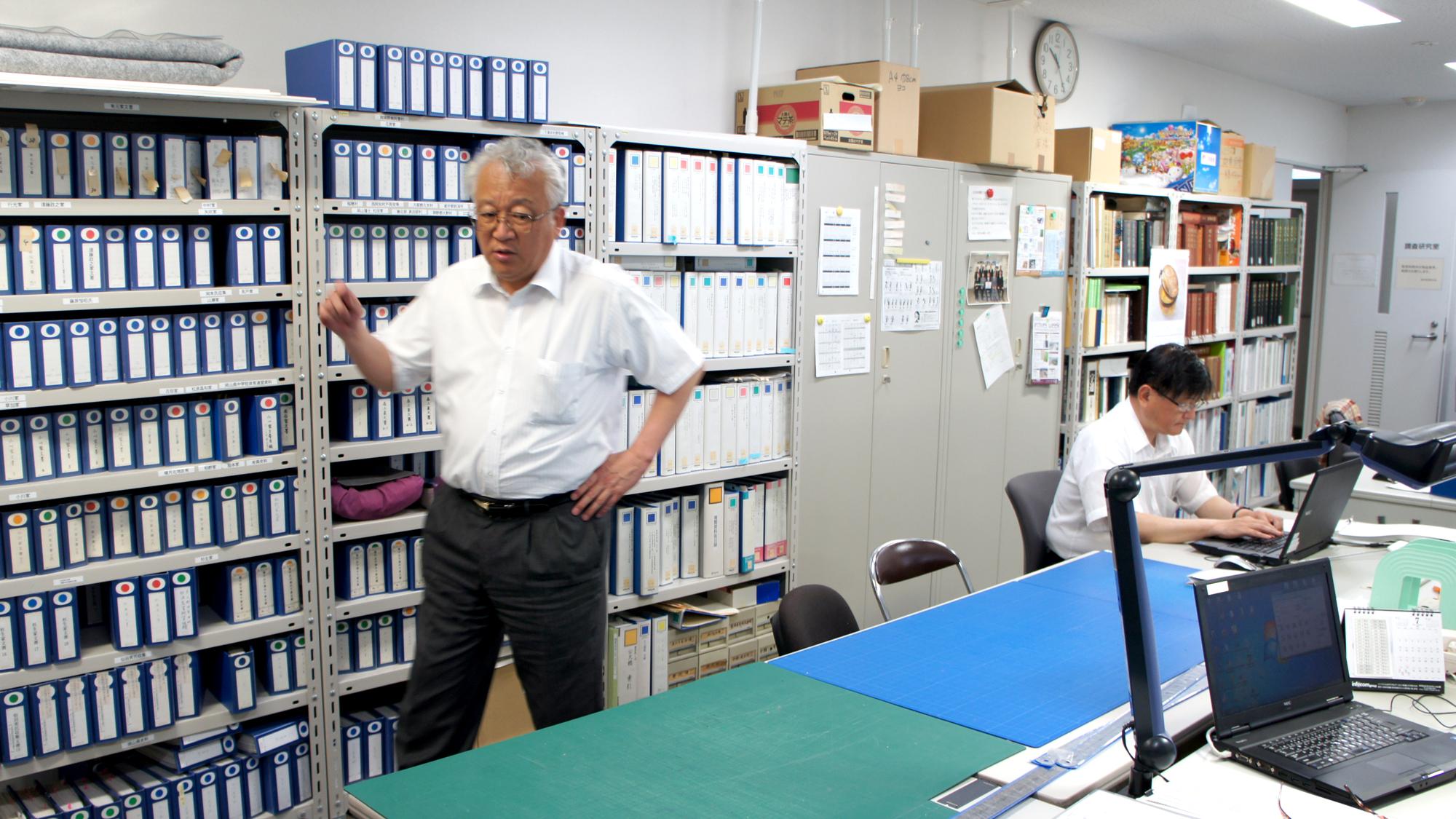 岡山県立記録資料館・定兼館長学館長に聞く ここに記録が残っている……それが県民の安心感